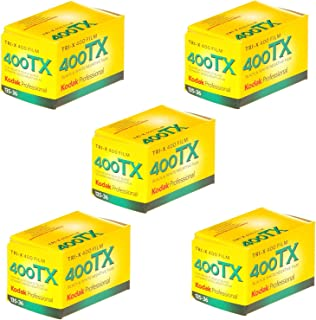 Kodak Tri-X 400TX Professional ISO 400, 36mm, Black and White Film (Pack of 5)