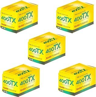 Kodak Tri-X 400TX Professional ISO 400, 36mm, Black and White Film (Pack of 5)