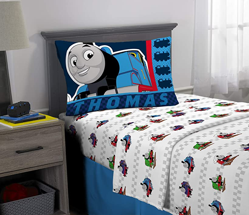 Franco Kids Bedding Super Soft Microfiber Sheet Set, 3 Piece Twin Size, Thomas and Friends