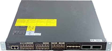 CISCO DS-C9134-K9 Cisco MDS 9134 Multilayer Fabric Switch Cisco-Systems-DS-C9134-K9-MDS-9134-Multilayer-Fabric-Switch-for-Parts (Renewed)