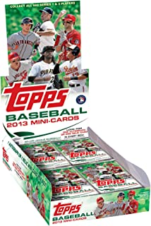 Topps 2013 Factory Sealed Mini Baseball Cards 1 Relic or Autograph Per Box - Limited!!!