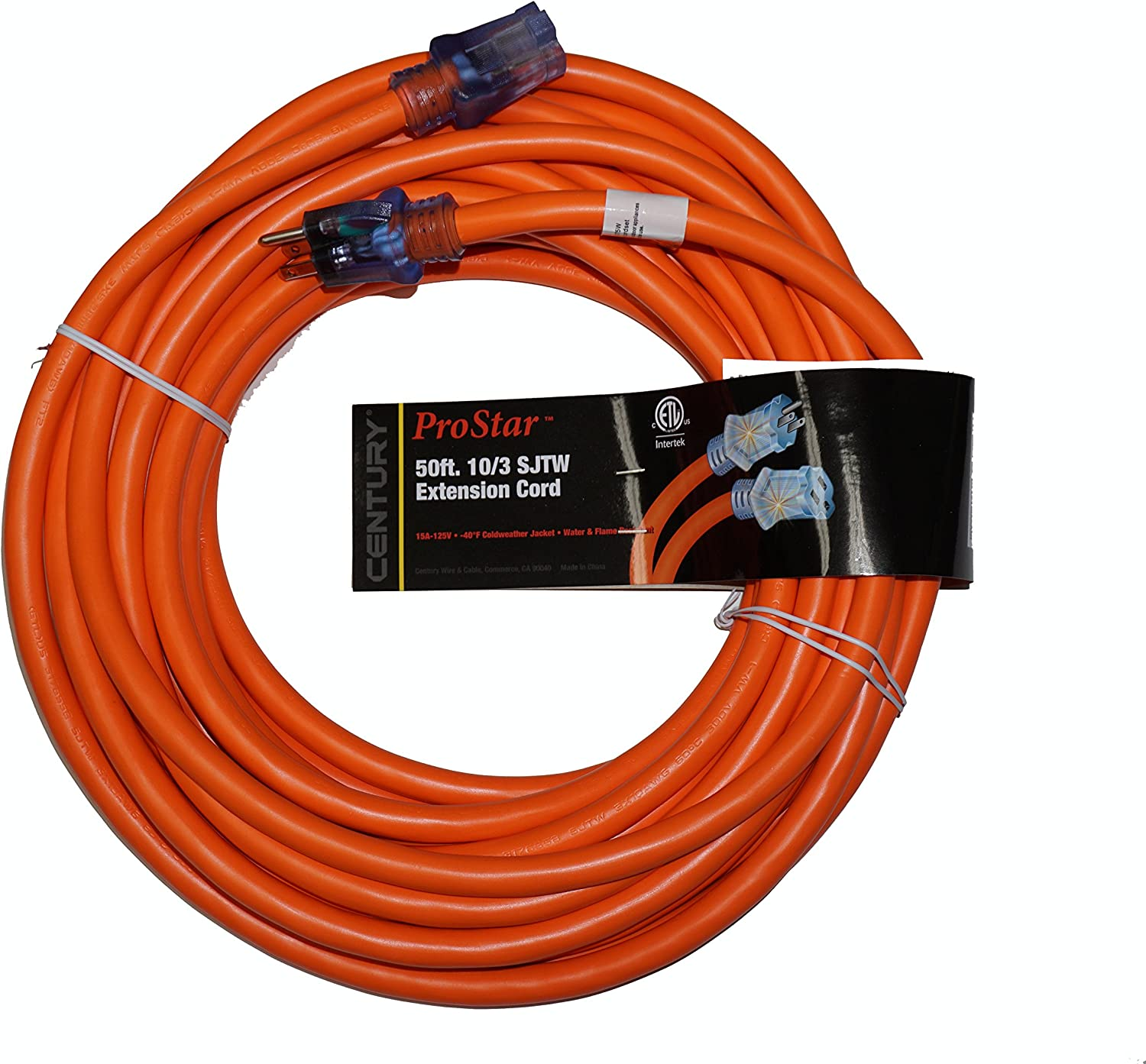ProStar 10 Gauge Max 84% OFF Free shipping anywhere in the nation SJTW 3 Conductor Extension With Foot 50 Cord Li