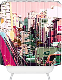 """Deny Designs Shannon Clark Hustle And Bustle Shower Curtain, 69"""" x 72"""""""