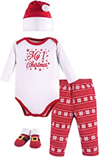 Baby Holiday Clothing Gift Set, 4 Piece