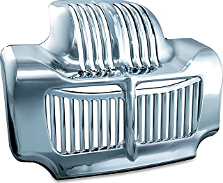 Kuryakyn 7784 Motorcycle Accent Accessory: Oil Cooler Cover for 2011-16 Harley-Davidson Touring Motorcycles, Chrome