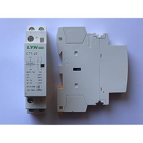 Tension AC220V / 230V bobine 35mm Montage sur rail DIN AC Contacteur