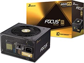 Seasonic FOCUS Plus 850 Gold SSR-850FX 850W 80+ Gold ATX12V & EPS12V Full Modular 120mm FDB Fan 10 Year Warranty Compact 140 mm Size Power Supply