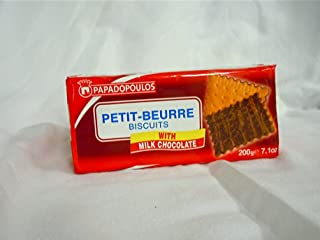 Papadopoulos Milk Chocolate Petit Beurre