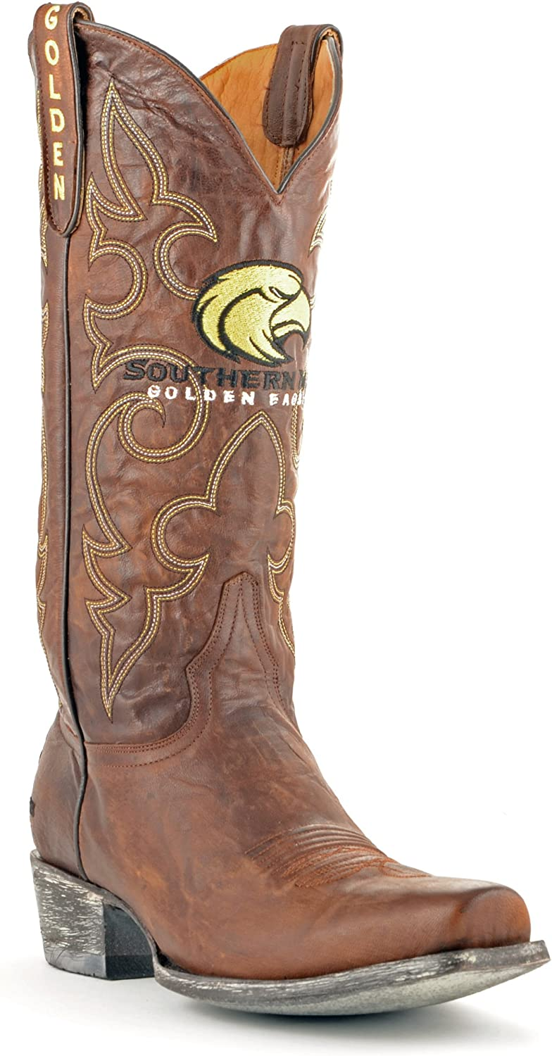NCAA Southern Mississippi golden Eagles Men's Board Room Style Boots