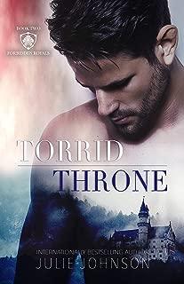 Torrid Throne (The Forbidden Royals Trilogy Book 2)
