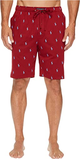 Polo Ralph Lauren - All Over Pony Player Jersey Sleep Shorts