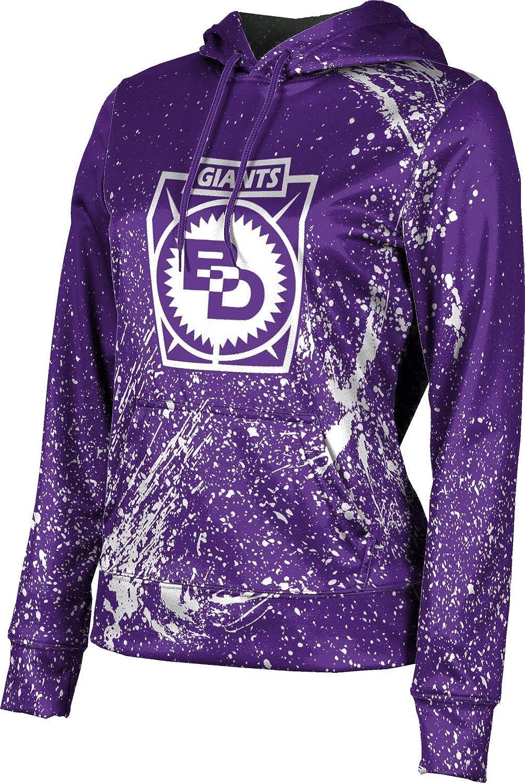 Ben Davis High School Girls' Pullover Hoodie, School Spirit Sweatshirt (Splatter)