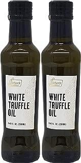 Lieber's Truffle Oil White Truffle Oil, Kosher For Passover, 8.45 Fl Oz Glass Bottle (Pack of 2, Total of 16.9 Fl Oz)