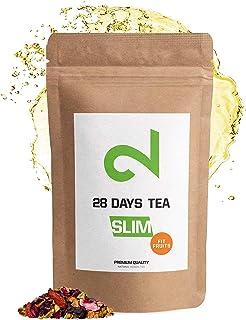 DUAL Slim Fit Fruits - Té adelgazante | Té de frutas 100% natural | 100g Té de vitaminas para perder peso | Té de hierbas ...