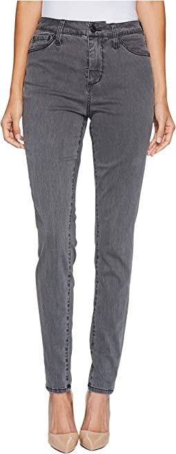 Gwen High-Rise Skinny in Lush Sateen