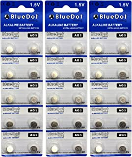 BlueDot Trading AG5 Batteries, 30 Count
