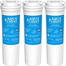 3X AQUACREST 836848 Fridge Water Filter, Compatible with Fisher & Paykel 836848, 836860, E404BRXFDU, E522BRXFDU, PS2067635, Amana/Maytag/Admiral Clean'n Clear 67003662, RO185014, RO185011, WF60, C2(3)