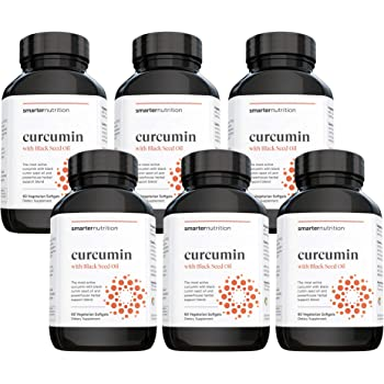 Smarter Turmeric Curcumin - Potency and Absorption in a SoftGel - The Most Active Form of Curcuminoid Found in the Turmeric Root - 95% Tetra-Hydro Curcuminoids (180 Servings) (Packaging May Vary)