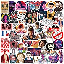 100pcs Strange_r Things Stickers for Hydroflasks Vinyl Waterproof Stickers for Kids Teens Adults Water Bottle Skateboard L...