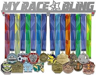 VICTORY HANGERS My Race Bling Medal Hanger Display Male