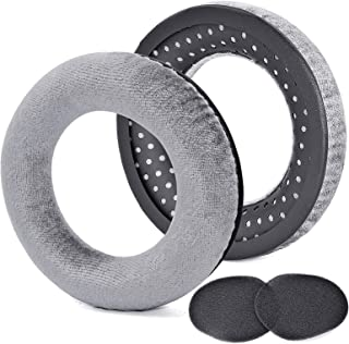 Defean Replacement Ear Pads Ear Cushion Pads Earpad Compatible with beyerdynamic DT990 / DT880 / DT770 PRO Headphones (Gray)