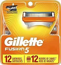 Gillette Fusion5 Men's Razor Blades – 12 Refills