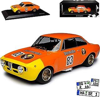 Minichamps Alfa Romeo GTA 1300 Junior Nr 40 1971 12H Paul Ricard limitiert 1 von 336 1//18 Modell Auto mit individiuellem Wunschkennzeichen