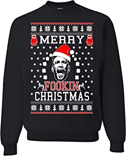 merry fookin christmas sweater