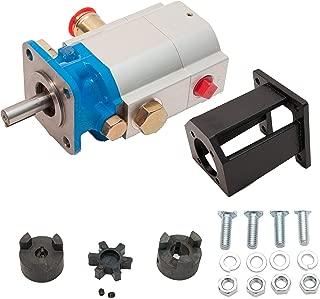 "ToolTuff Log Splitter Build Kit: 16 GPM Pump, Coupler, Mount, Bolts, Huskee, Speeco, etc (for 1"" Engine Crankshaft)"