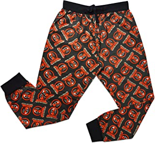 Mens Official Deadpool Loungepants | Mens Loungewear All Over Print Pyjama Bottoms, Size Small - X-Large