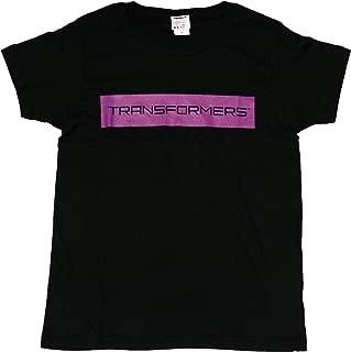 トランスフォーマー最後の騎士王【国内公式監修】Tシャツ ディセプティコンロゴ 両面プリント