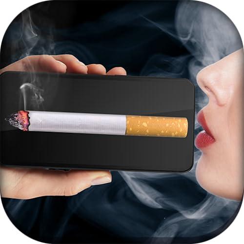 Fumo de cigarro virtual