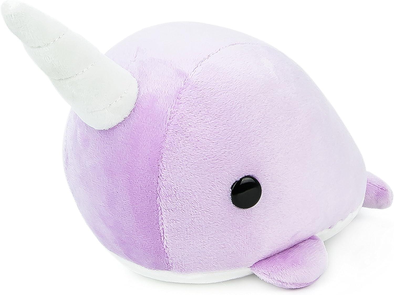 directo de fábrica Bellzi Cute púrpura púrpura púrpura Narwhal Stuffed Animal Plush Juguete - Narrzi  buena calidad