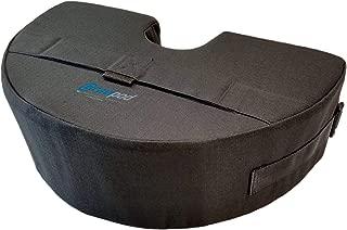 Gravipod Half-Round Umbrella Base Weight Bag - Up to 50 lbs.