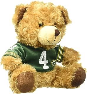 Green Bay Packers Favre B. #4 Retired Player Bear Team Jersey