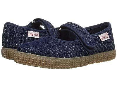 Cienta Kids Shoes 56079 (Infant/Little Kid/Big Kid) (Denim) Girl