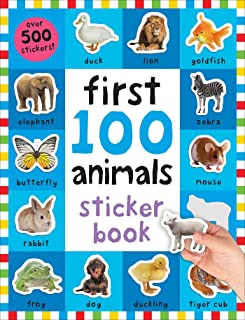 First 100 Stickers: Animals: Over 500 Stickers