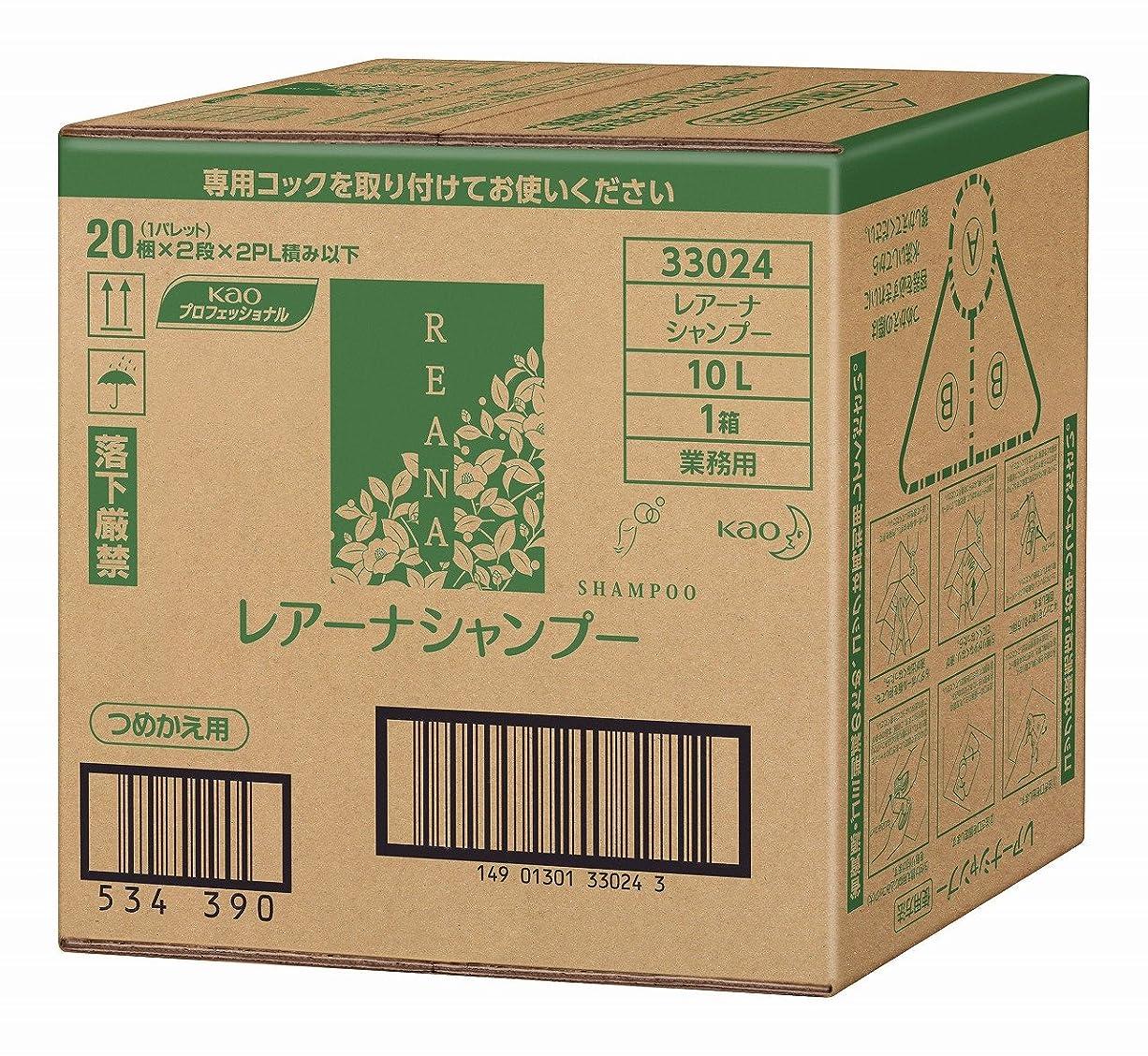 値する高潔な不純花王 レアーナ シャンプー 10L