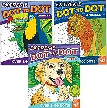 MindWare Extreme Dot to Dot: Animal Favorites Set of 3