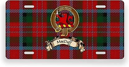 MacDuff Scotland Clan Tartan Novelty Auto Plate