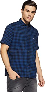 Arrow Sports Men's Checkered Regular Fit Casual Shirt
