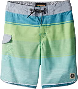 Rip Curl Kids - Good Vibes Boardshorts (Big Kids)