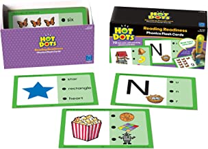 Educational Insights Hot Dots Phonics Flash Cards- Reading Readiness