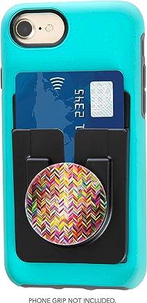 buy popular c3ec6 54eb6 Amazon.com: phone card holder with popsocket