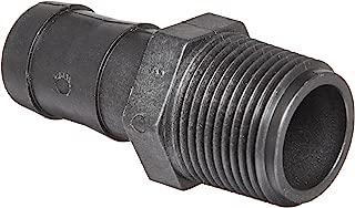 Banjo HB100 Polypropylene Hose Fitting, Adapter, 1