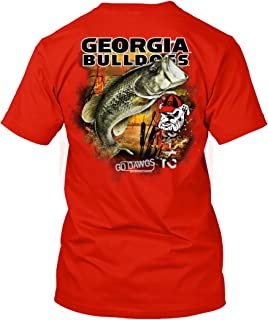 NCAA - Bass Fishing T Shirt - Officially Licensed Apparel