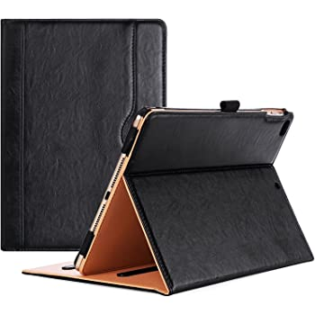 ProCase iPad 9.7 Case 2018/2017 iPad Case - Stand Folio Cover Case for Apple iPad 9.7 inch, Also Fit iPad Air 2 / iPad Air -Black