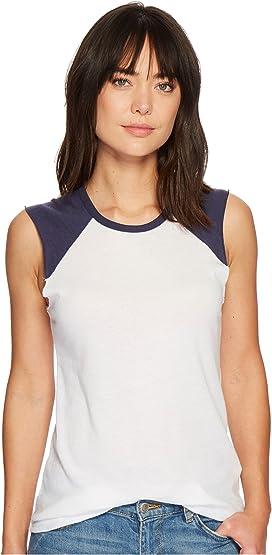 b964c8e5916dc7 Alternative Inside Out Slub Sleeveless T-Shirt at Zappos.com