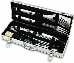 Conjunto de ferramentas de churrasco com 5 peças Fiero Auburn Tigers da NCAA