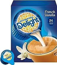 International Delight Coffee Creamer Singles, French Vanilla, 24 Count